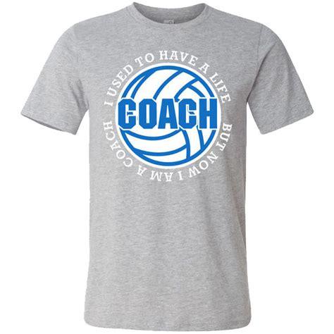 Volleyball Coach Tshirt