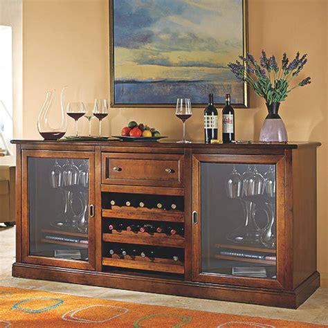 Wine Credenza Cooler - siena wine credenza wine enthusiast