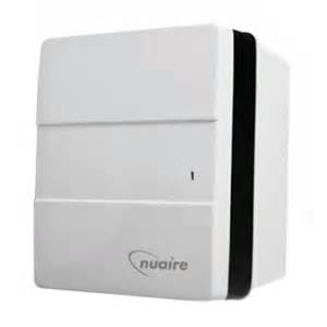 nuaire genie x continuous bathroom extractor fan with pull