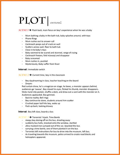 Novel Outline Templates by Story Theme Essay Exle Astutefound Ga