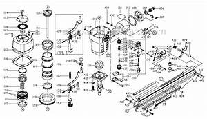 Porter Cable Fr350 Parts List And Diagram