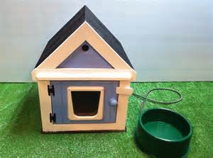 insulated outdoor cat house heated outdoor cat house heated bowl bed shelter by stabob