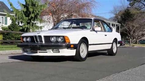 1987 Bmw 635csi L6 E24 For Sale~very Rare~sun Roof~amazing