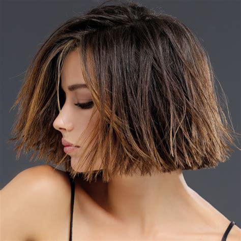 coiffures coupes mi longues tendances automne hiver