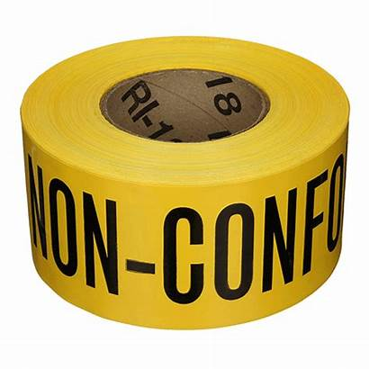 Control Non Material Conforming Tapes