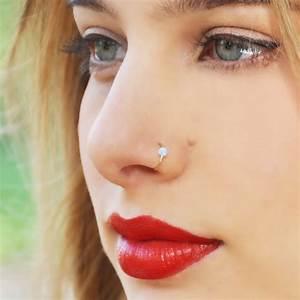 Fake Septum Piercing Nose Ring Hoop Nose For Women Faux