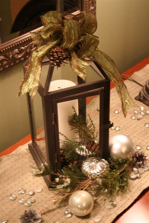 christmas lantern ideas 30 best decorated lanterns images on pinterest candles at home and centerpieces