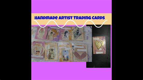 butterfly atcs cards tutorial artist trading cards