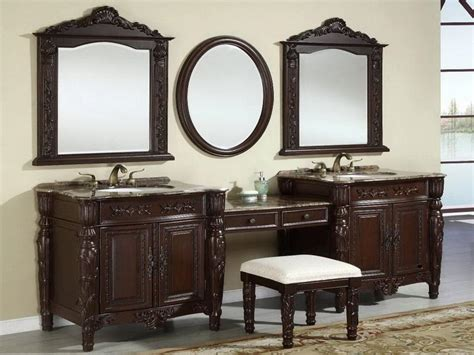 Bathroom Vanities With Makeup Table by Bathroom Cool Bathroom Vanity With Makeup Table Bathroom