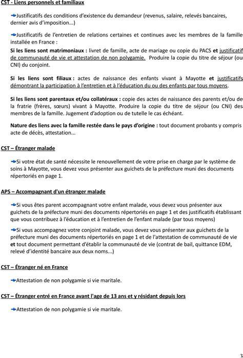 Renouvellement Titre De Sejour Parent D Un Français by Renouvellement De Votre Titre De S 201 Jour Pdf