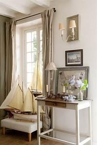 jolie maison de campagne au design romantique en france With decoration interieur style campagne