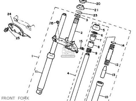 yamaha motorcycle exhaust diagram yamaha free engine