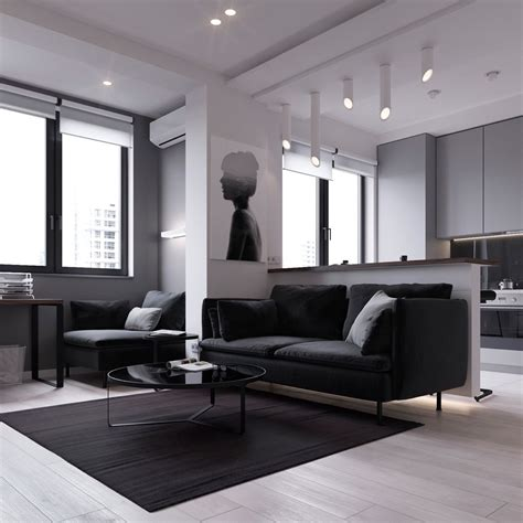 3 Modern Small Apartment Designs 50 Square Meters That Dont Sacrifice On Style Includes Floor Plans by 3 Modern Style Apartments 50 Square Meters Includes