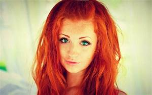 Rote Haare Grüne Augen : hintergrundbilder gesicht frau rothaarige modell portr t lange haare rot gr ne augen ~ Frokenaadalensverden.com Haus und Dekorationen