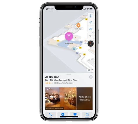 latest apple maps update includes indoor mapping