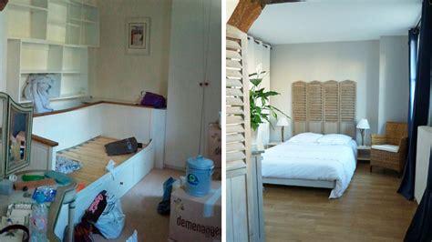 chambre minuscule avant après rénovation d un appartement parisien de 80m2
