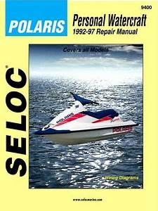 Seloc Service Repair Manual Book Polaris Pwc 92