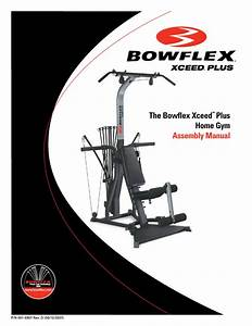 Bowflex Xceed Plus User Manual