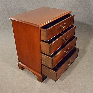 Antique Small Chest Of Drawers Bedside Cabinet