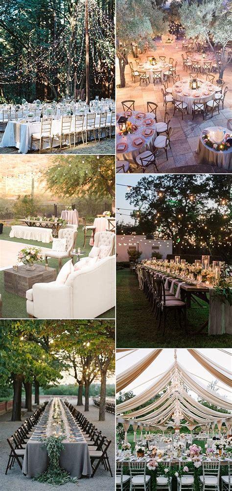top  whimsical outdoor wedding reception ideas