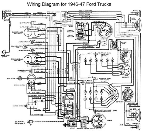 1955 Thunderbird Overdrive Wiring Diagram by Wiring Diagram 1946 Ford Truck Enthusiasts Forums