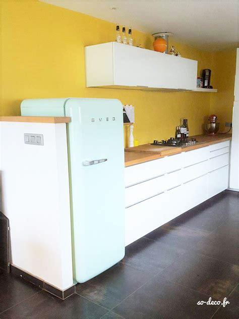 cuisine mur jaune avant après sur une cuisine et bien plus encore
