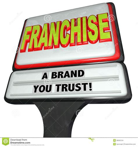 franchise cuisine franchise restaurant business sign brand you trust chain