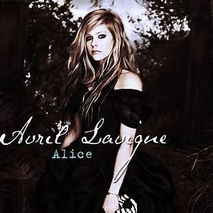 Avril Lavigne - Alice CD Cover by feel-inspired on DeviantArt