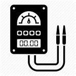 Meter Electric Electricity Icon Electrician Electrical Vectorified