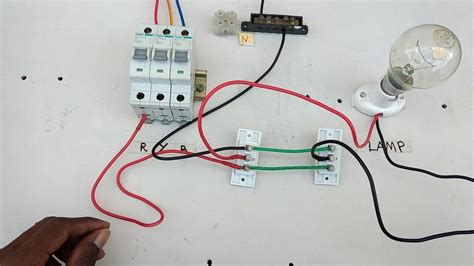 two way switch connection type 3 in tamil two way switch wiring diagram