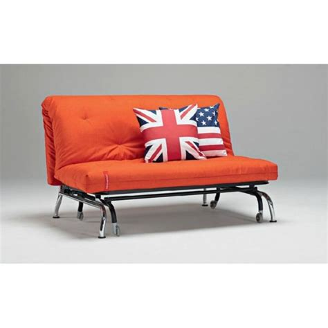 canapé lit bz skater orange design convertible 20 achat