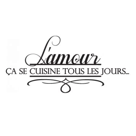 cuisine et citation stickers amour en cuisine citations en