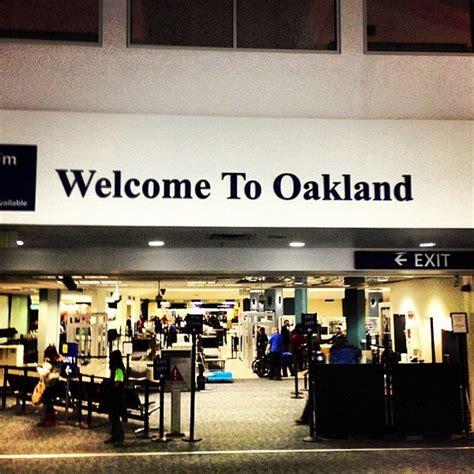 oakland international airport oak airport  central