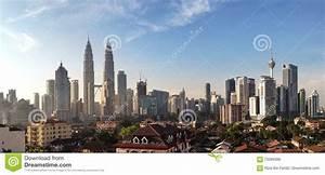 KUALA LUMPUR, MARCH 13th 2016: Panoramic View Of Kuala ...