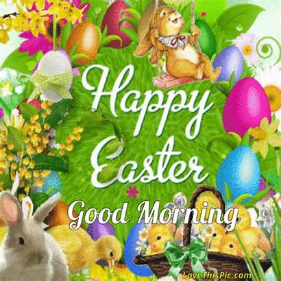 Easter Happy Morning Quotes Funny Gifs Bunny