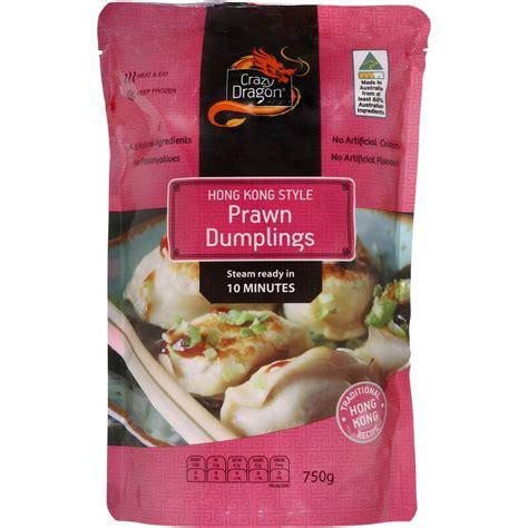 750g cuisine prawn dumplings 750g woolworths