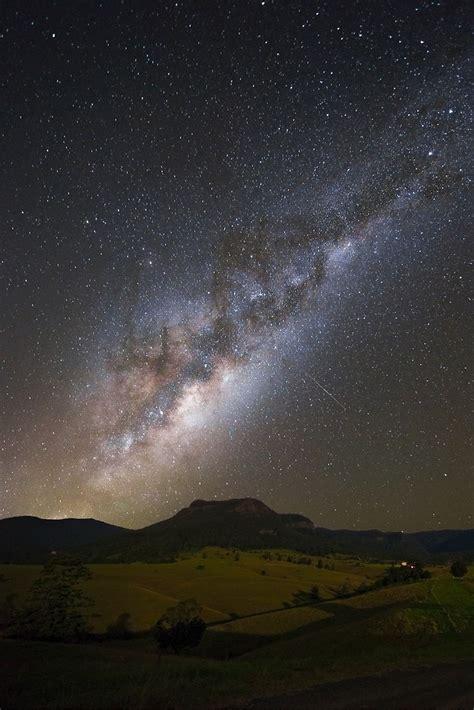 Milky Way Shooting Stars Mcguiganvisuals Redbubble