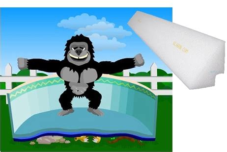 Gorilla Floor Padding For 18ft by Gorilla Floor Padding And Cove Kit For A 18x33 Oval Pool