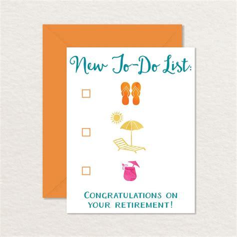 Printable Happy Retirement Card