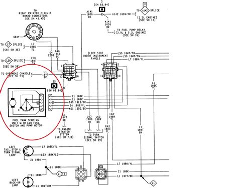 fuel sending unit wiring diagram free wiring diagram