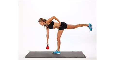 leg deadlift kettlebell single deadlifts popsugar fitness weight exercises squats glutes loss butt variations major fill booty moves