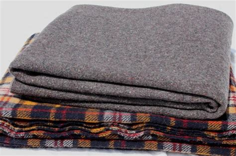 Vintage Grey & Plaid Wool Camp Blanket Lot, Rustic Primitive Old Wool Blankets Baby Wrapped In A Blanket Military Issue Wool Personalised Boy Blankets Patient Warming How To Make Tunisian Crochet Comfy Throw Small Wonders Duck Feather