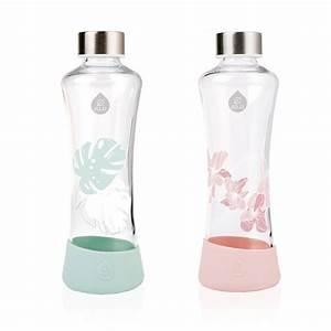Bouteille Verre 1l : urban jungle bouteille design en verre de equa pimp my bottle ~ Teatrodelosmanantiales.com Idées de Décoration