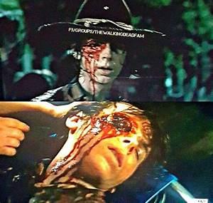 The Walking Dead Season 6 Episode 9 'No Way Out' Carl ...