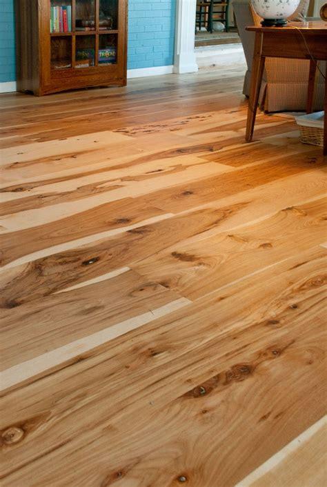 harvest hickory flooring mountain lumber wood floors