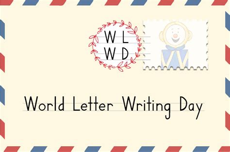 world letter writing day means  students