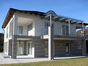 Anbau Einfamilienhaus Beispiele : fassadengestaltung maler gipsbau schneider johann toblach ~ Markanthonyermac.com Haus und Dekorationen