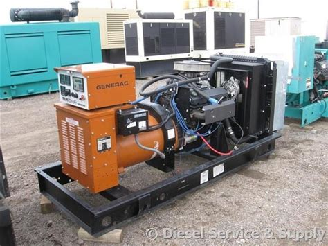 Available! Generac 65 Kw Standby Natural Gas Generator