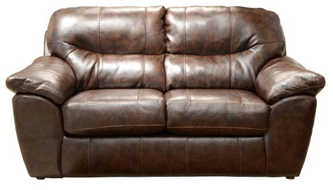 the loveseat comfortable leather loveseat augusta