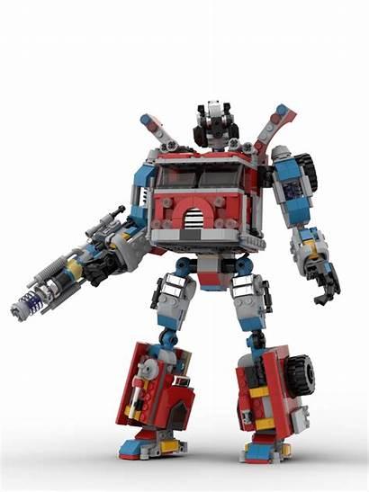 Hidden Side Transformers Lego Build Alternative Mech